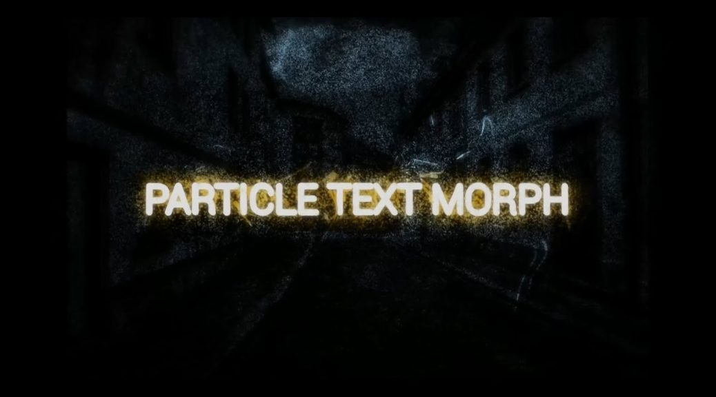 blackmagic fusion particle text morphing new free templates a